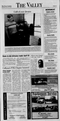 Athens News Courier, March 18, 2009, Page 7