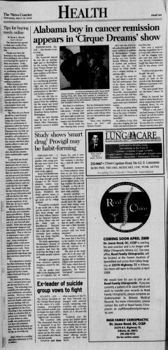 Athens News Courier, March 18, 2009, Page 15