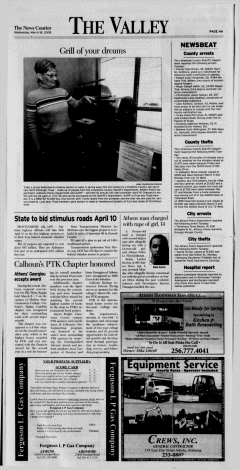 Athens News Courier, March 18, 2009, Page 8