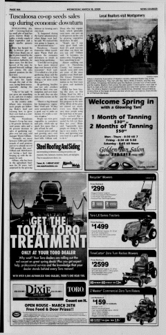 Athens News Courier, March 18, 2009, Page 20