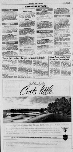 Athens News Courier, March 19, 2009, Page 11