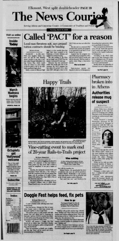 Athens News Courier, March 19, 2009, p. 2