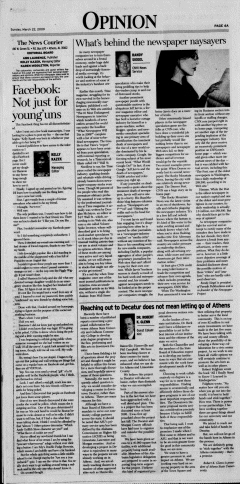 Athens News Courier, March 22, 2009, Page 7