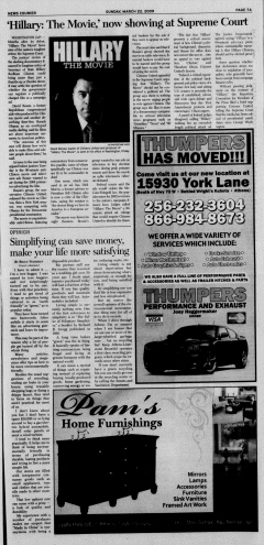 Athens News Courier, March 22, 2009, Page 13