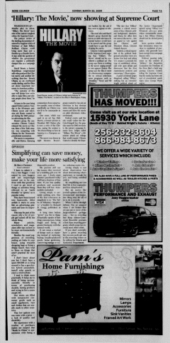 Athens News Courier, March 22, 2009, Page 14