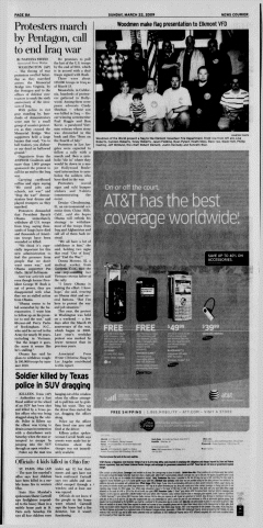 Athens News Courier, March 22, 2009, Page 16