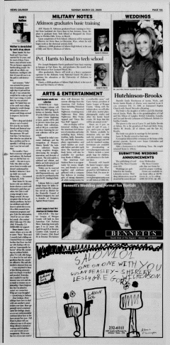 Athens News Courier, March 22, 2009, Page 22
