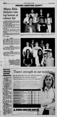 Athens News Courier, March 22, 2009, Page 26