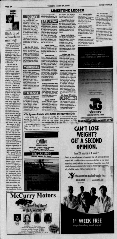 Athens News Courier, March 24, 2009, Page 11