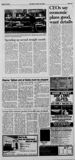 Athens News Courier, March 28, 2009, Page 13