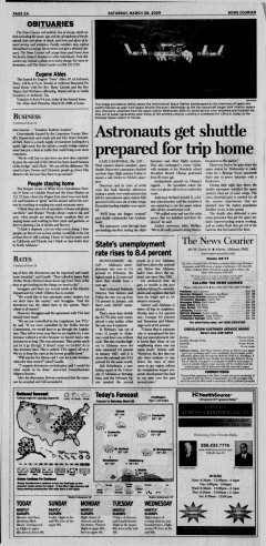 Athens News Courier, March 28, 2009, Page 4