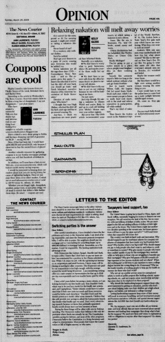 Athens News Courier, March 29, 2009, p. 7