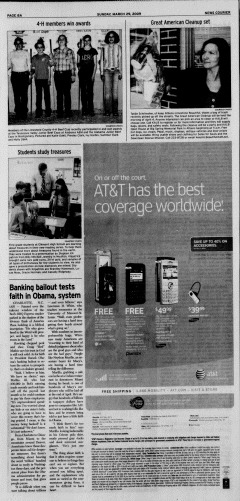 Athens News Courier, March 29, 2009, p. 15
