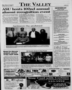 Athens News Courier, March 29, 2009, p. 12