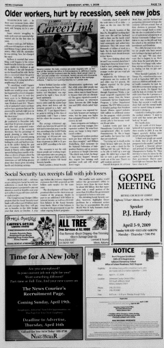 Athens News Courier, April 01, 2009, Page 13