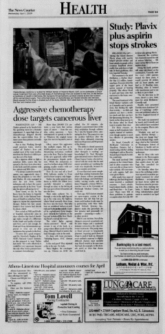 Athens News Courier, April 01, 2009, Page 15