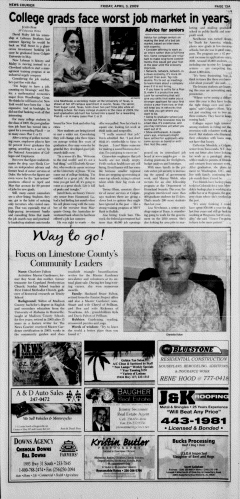 Athens News Courier, April 03, 2009, Page 26