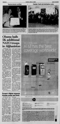 Athens News Courier, April 05, 2009, Page 15