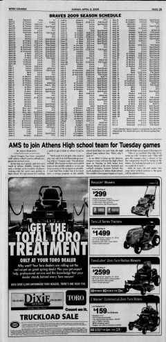 Athens News Courier, April 05, 2009, Page 57