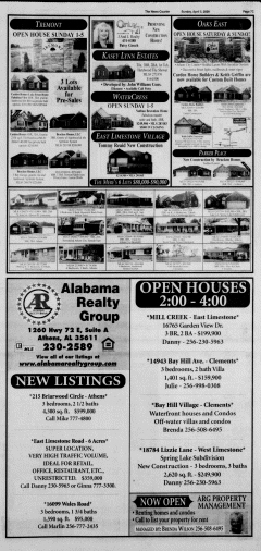 Athens News Courier, April 05, 2009, Page 73