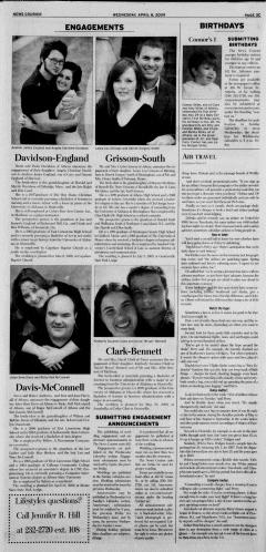 Athens News Courier, April 08, 2009, Page 45