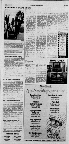Athens News Courier, April 09, 2009, Page 5