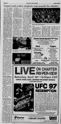 Athens News Courier, April 11, 2009, Page 15