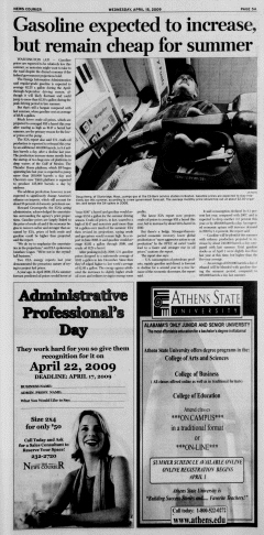 Athens News Courier, April 15, 2009, Page 9
