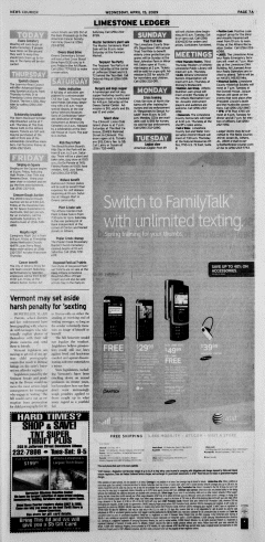 Athens News Courier, April 15, 2009, Page 13