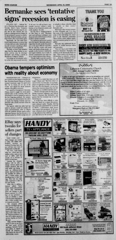 Athens News Courier, April 15, 2009, Page 21
