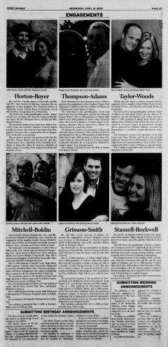 Athens News Courier, April 15, 2009, Page 49