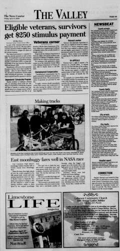 Athens News Courier, April 17, 2009, Page 7