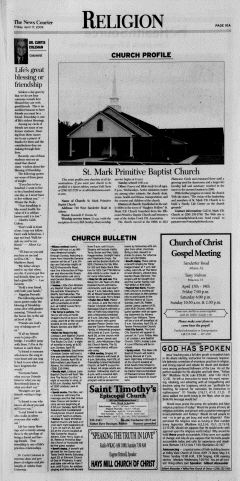 Athens News Courier, April 17, 2009, Page 19