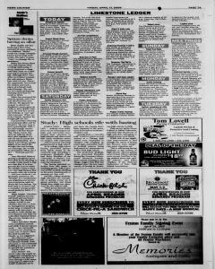 Athens News Courier, April 17, 2009, Page 14