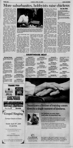 Athens News Courier, April 19, 2009, Page 39