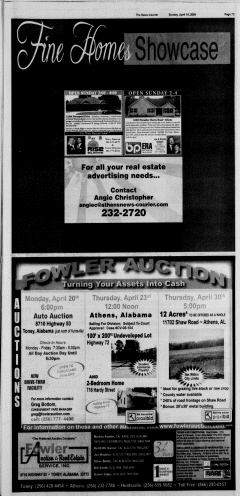 Athens News Courier, April 19, 2009, Page 77