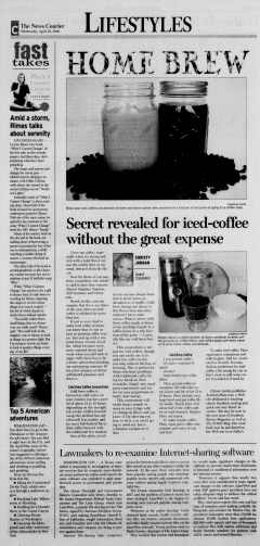 Athens News Courier, April 22, 2009, Page 45