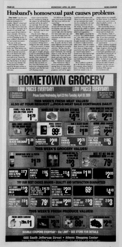 Athens News Courier, April 22, 2009, Page 47