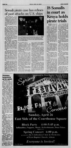 Athens News Courier, April 24, 2009, Page 31