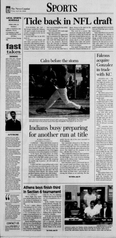 Athens News Courier, April 24, 2009, Page 45