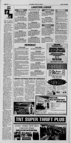 Athens News Courier, April 25, 2009, Page 7
