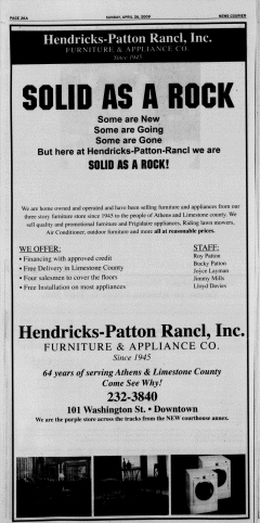 Athens News Courier, April 26, 2009, Page 51