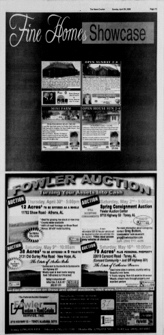 Athens News Courier, April 26, 2009, Page 89