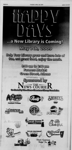 Athens News Courier, April 28, 2009, Page 11