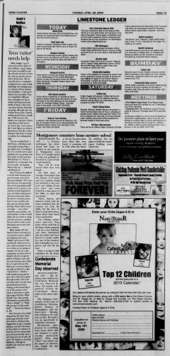 Athens News Courier, April 28, 2009, Page 13