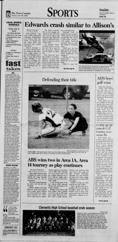 Athens News Courier, April 28, 2009, Page 17