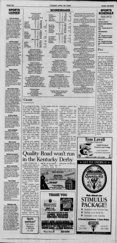 Athens News Courier, April 28, 2009, Page 19