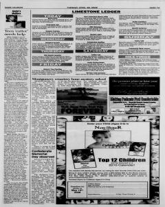 Athens News Courier, April 28, 2009, Page 14