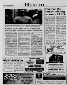 Athens News Courier, April 29, 2009, Page 16