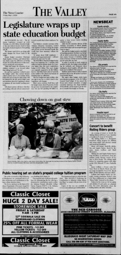 Athens News Courier, May 01, 2009, Page 7